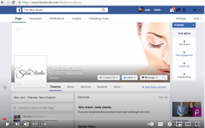 How to add a URL to a Facebook post