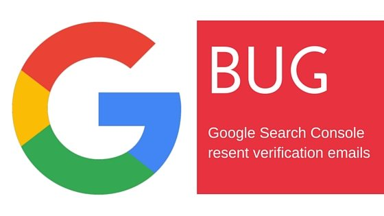 Phancybox Google Search Console bug re-sending verification emails