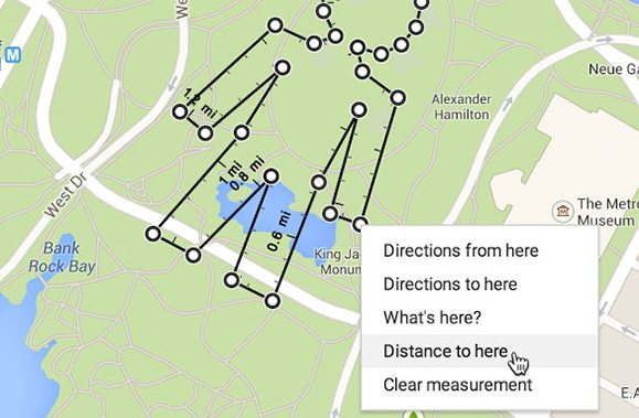 Phancybox Measure and calculate distance with the updated Google Maps