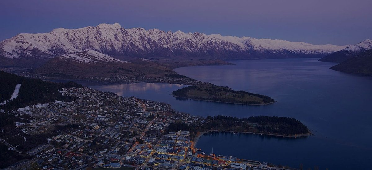 Queenstown web design for ski and ride by Phancybox New Zealand digital agency Queenstown night min 1