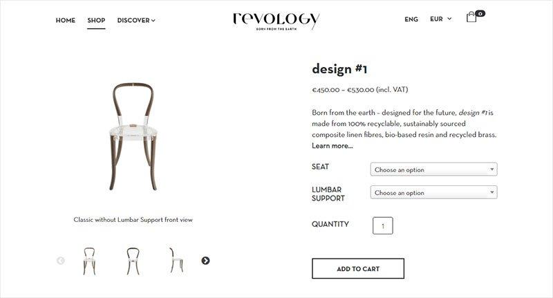 Ecommerce retail web design Revology Phancybox Auckland Web Design New Zealand